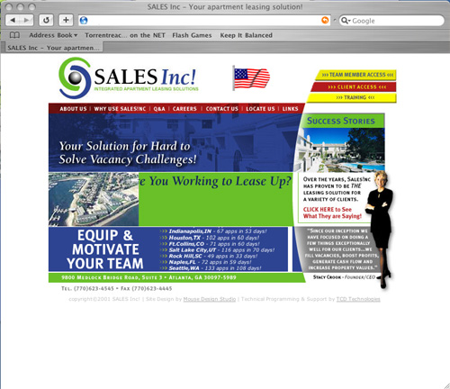 SalesInc! - National Apartment Leasing Firm