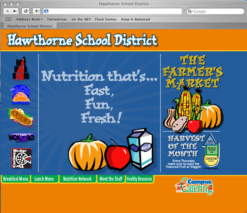 Various California School District Web Sites